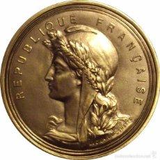 Medallas históricas: FRANCIA. MEDALLA HONOR Y MÉRITO. PARÍS. PLATEADA. Lote 56721233