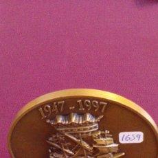 Medallas históricas: MEDALLA ANIVERSARIO 50 AÑOS DE BAZAN. Lote 57036591