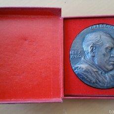 Medallas históricas: MEDALLA HOMENAJE GREGORIO MARAÑÓN 1887 1960 POR EL ESCULTOR JULIO LÓPEZ CAJA ORIGINAL . Lote 57134983