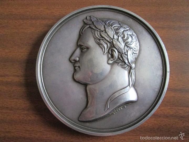 NAPOLEÓN I MEDALLA DE PLATA (Numismática - Medallería - Histórica)