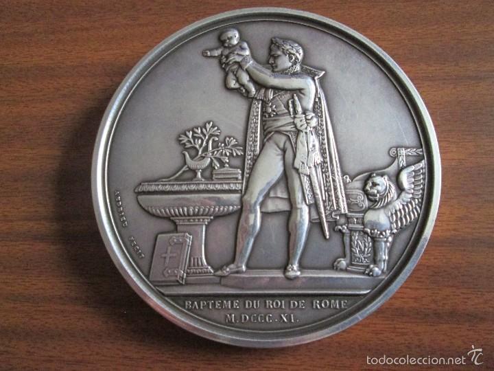 Medallas históricas: Napoleón I Medalla de plata - Foto 2 - 57314454