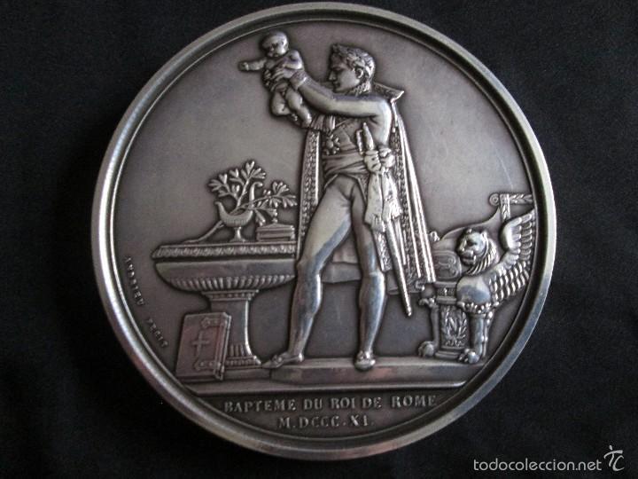 Medallas históricas: Napoleón I Medalla de plata - Foto 3 - 57314454