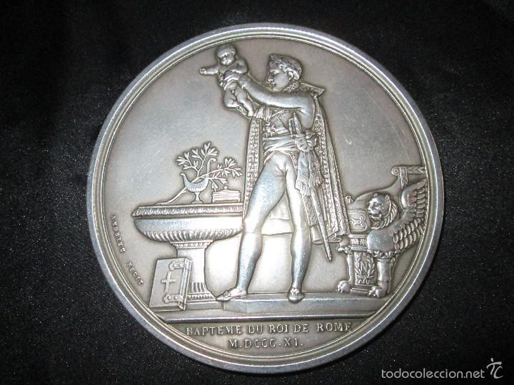 Medallas históricas: Napoleón I Medalla de plata - Foto 4 - 57314454