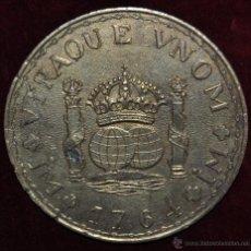 Medallas históricas: MEDALLON EN BRONCE CON INSCRIPCIONES DE IM VTRAQUE VNOM MI 1764.. Lote 57319891