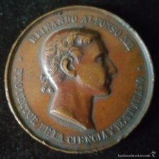 Medallas históricas: MEDALLA CONMEMORATIVA REINANDO ALFONSO XII. Lote 57396822