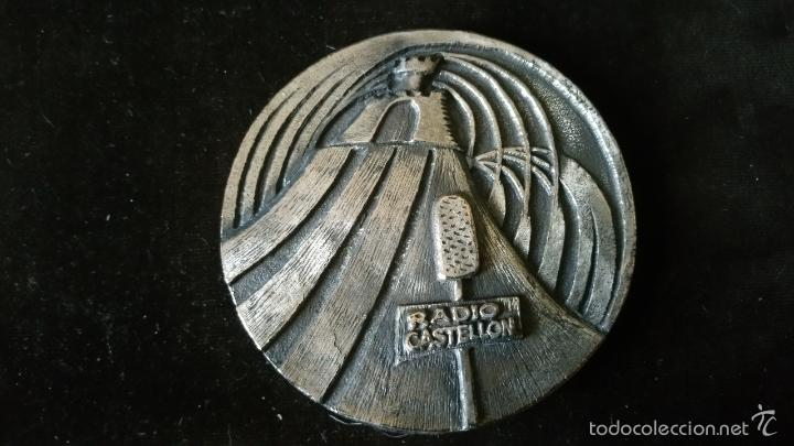 MEDALLA CONMEMORATIVA DE RADIO CASTELLON SER 50 ANIVERSARIO (Numismática - Medallería - Histórica)