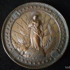 Medallas históricas: MEDALLA CONMEMORATIVA A LA VIRGEN INMACULADA PATRONA DE INFANTERIA. Lote 57396961
