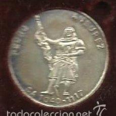 Medallas históricas: MEDALLA MONEDA DE PLATA 925/000 DE PERSONAJE DE VALLADOLID CONDE ANSUREZ DIAMETRO 22 MM.. Lote 57531596
