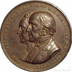 Medallas históricas: INGLATERRA. MEDALLA DINING & RECREATION HALL. 1.891. Lote 54102541