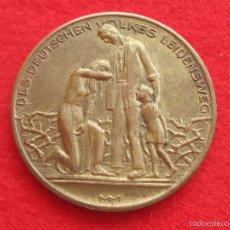 Medallas históricas: MEDALLA ALEMANA INFLACIÓN 1923 BRONCE O LATÓN, ALEMANIA. Lote 57613887