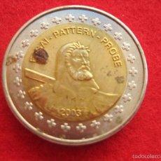 Medallas históricas: MEDALLA SUIZA, 2003, TIPO 2 EUROP EUROPRUEBA, PATTERN, ESSAI, SPECIMEN, BIMETÁLICA. Lote 57614645