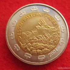 Medallas históricas: MEDALLA , 2004, TIPO 2 XEROS EUROPRUEBA, PATTERN, ESSAI, SPECIMEN, BIMETÁLICA. Lote 57614999