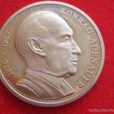 Historical Medals - medalla alemana, Konrad Adenauer, Alemania - 57616347