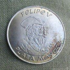 Medallas históricas: FELIPE V *** MEDALLA PERSONAJES ILUSTRES HISTORICOS *** PLATA 800 ***. Lote 109384880