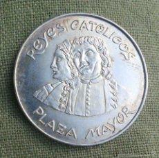 Medallas históricas: LOS REYES CATOLICOS *** MEDALLA DE PERSONAJES ILUSTRES *** PLATA 800 ***. Lote 57733523