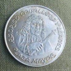 Medallas históricas: RODRIGO CABALLERO Y LLANES *** MEDALLA DE PERSONAJES ILUSTRES *** PLATA 800 ***. Lote 57733621