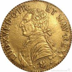 Medallas históricas: FRANCIA. MEDALLA CONMEMORATIVA DE LUIS XVI. 76 MM. Lote 58188183