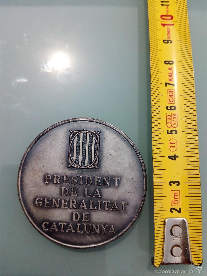 Medallas históricas: Medalla de Francesc Maciá (1859-1933) presidente de la Generalitat - Foto 2 - 60389367