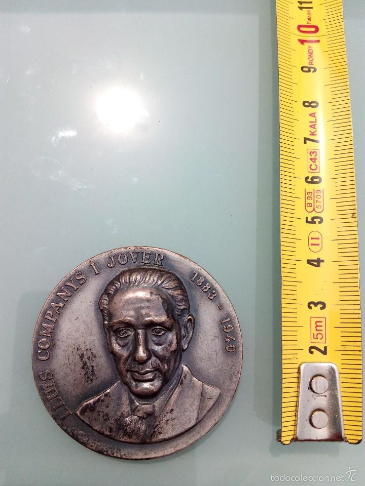 MEDALLA DEL PRESIDENTE DE LA GENERALITAT FRANCESC MACIÀ (Numismática - Medallería - Histórica)