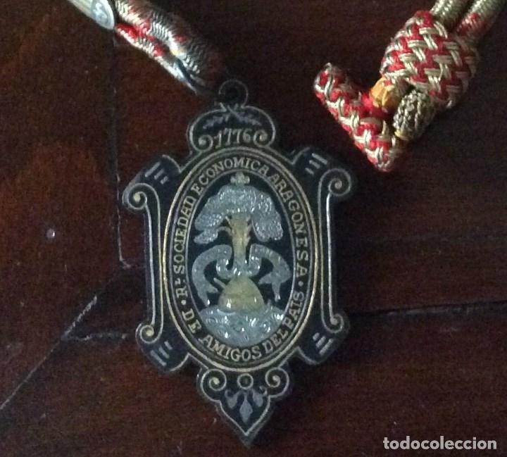 SOCIEDAD ECONOMICA ARAGONESA 1776. DE AMIGOS DEL PAIS. (Numismática - Medallería - Histórica)