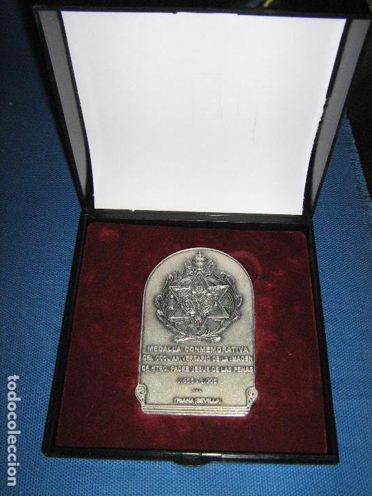 Medallas históricas: SEMANA SANTA SEVILLA - MEDALLA - CCCL ANIVERSARIO IMAGIEN JESUS DE LAS PENAS - 1655/2005 EN ESTUCHE - Foto 4 - 62585312