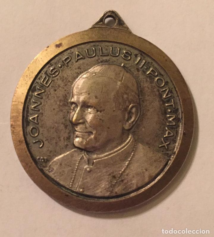 MEDALLA DEL PAPA JUAN PABLO II (Numismática - Medallería - Histórica)