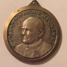 Medallas históricas: MEDALLA DEL PAPA JUAN PABLO II . Lote 63576940