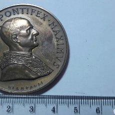 Medallas históricas: MEDALLA PABLO VI PONTIFICE, CONMEMORATIVA VER PESO. Lote 63995983