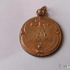 Medallas históricas: MEDALLA COLGANTE 1904 PRIMERA COMUNION. Lote 65693594