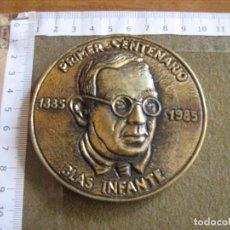 Medallas históricas: MEDALLA CONMEMORATIVA DEL CENTENARIO DE BLAS INFANTE - 1885/1995 - SERIE LIMITADA 1000 - NUMERADA. Lote 66138266
