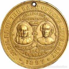 Medallas históricas: INGLATERRA. MEDALLA DEL JUBILEO 60 ANIVERSARIO REINA VICTORIA. 1.897. Lote 68712781
