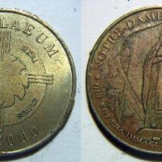 Medallas históricas: MEDALLA DE NOTRE DAME DE LOURDES 2000. Lote 70194325