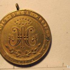 Medallas históricas: COLEGIO DE HERMANOS MARISTAS BADALONA 1916. Lote 70403801
