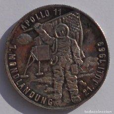 Medallas históricas: MEDALLA - APOLO XI - 1969 - PLATA - LLEGADA DEL HOMBRE A LA LUNA - ASTRONAUTA - ASTRONAUTAS. Lote 70579877