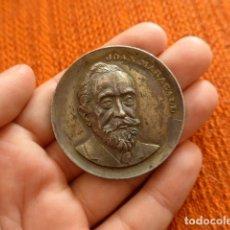 Medallas históricas: ANTIGUA MEDALLA CATALANA DE JOAN MARAGALL, ORIGINAL. Lote 71163601