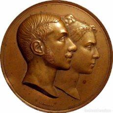 Medallas históricas: ESPAÑA. ALFONSO XII. MEDALLA CONMEMORATIVA BODA CON MARÍA DE LAS MERCEDES. 1.878. Lote 71479691