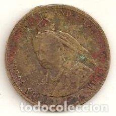 Medallas históricas: REINA VICTORIA DE INGLATERRA. JETON DE 1897. Lote 72169399