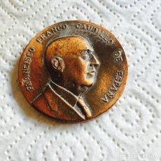 Medallas históricas: ANTIGUA MEDALLA FRANCO VISITA A MARTORELL. Lote 72299211