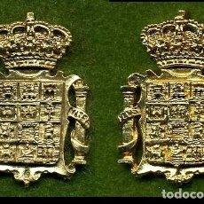 Medallas históricas: 2 MEDALLAS INSIGNIAS ORO DE LA PROVINCIA DE CADIZ ( ESCUDO PROVINCIAL ) Nº1 Y 2. Lote 73062823