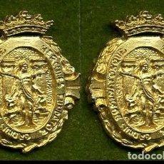 Medallas históricas: 2 MEDALLAS INSIGNIAS ORO DE LA PROVINCIA DE CADIZ ( CADIZ ) Nº3 Y 4. Lote 73063019