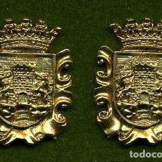 Medallas históricas: 2 MEDALLAS INSIGNIAS ORO DE LA PROVINCIA DE CADIZ ( CHICLANA DE LA FRONTERA ) Nº7 Y 8. Lote 73063267