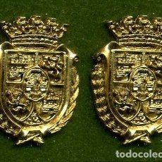 Medallas históricas: 2 MEDALLAS INSIGNIAS ORO DE LA PROVINCIA DE CADIZ ( PUERTO REAL ) Nº9 Y 10. Lote 92138295