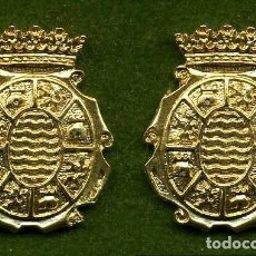 Medallas históricas: 2 MEDALLAS INSIGNIAS ORO DE LA PROVINCIA DE CADIZ ( JEREZ DE LA FRONTERA ) Nº13 Y 14. Lote 73063567