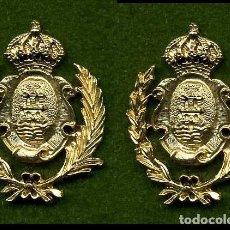 Medallas históricas: 2 MEDALLAS INSIGNIAS ORO DE LA PROVINCIA DE CADIZ ( ALGECIRAS ) Nº17 Y 18. Lote 80877907