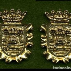 Medallas históricas: 2 MEDALLAS INSIGNIAS ORO DE LA PROVINCIA DE CADIZ ( TARIFA ) Nº19 Y 20. Lote 73064103