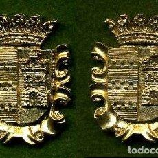 Medallas históricas: 2 MEDALLAS INSIGNIAS ORO DE LA PROVINCIA DE CADIZ ( CASTELLAR DE LA FRONTERA ) Nº27 Y 28. Lote 73285239