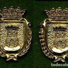 Medallas históricas: 2 MEDALLAS INSIGNIAS ORO DE LA PROVINCIA DE CADIZ ( JIMENA DE LA FRONTERA ) Nº29 Y 30. Lote 73286991