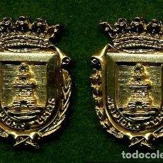 Medallas históricas: 2 MEDALLAS INSIGNIAS ORO DE LA PROVINCIA DE CADIZ ( CHIPIONA ) Nº33 Y 34. Lote 73289315