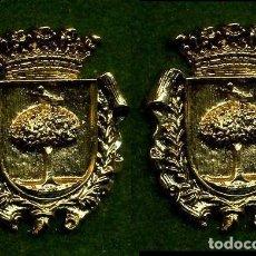Medallas históricas: 2 MEDALLAS INSIGNIAS ORO DE LA PROVINCIA DE CADIZ ( TREBUJENA ) Nº37 Y 38. Lote 73290647