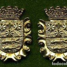 Medallas históricas: 2 MEDALLAS INSIGNIAS ORO DE LA PROVINCIA DE CADIZ ( BARBATE ) Nº39 Y 40. Lote 86154079